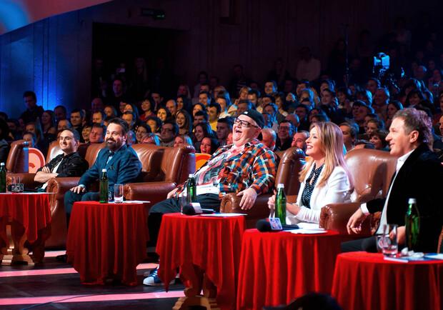 Лига Смеха. Концерт команд «Днепр», «СКВ», «прозрачный Гонщик». Фото: Лига Смеха