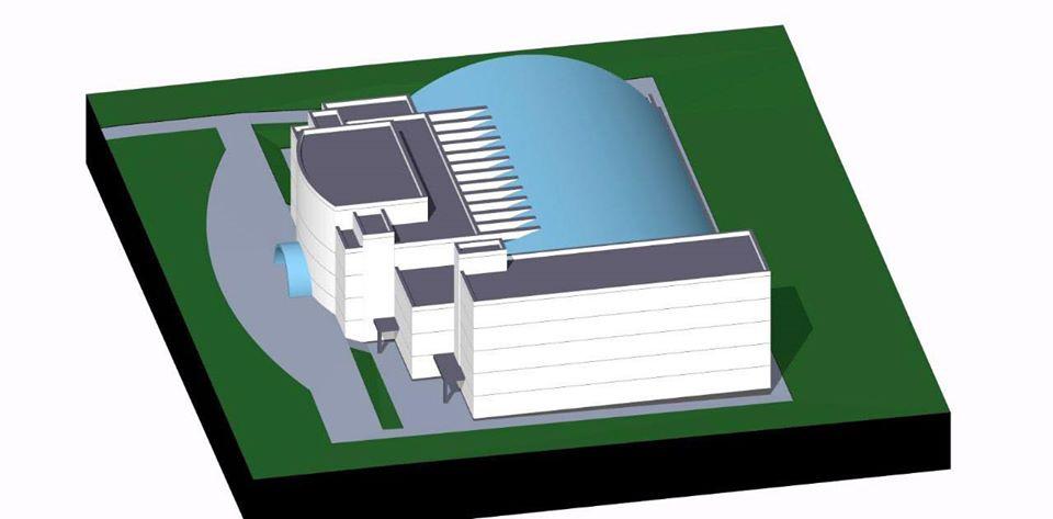 В Запорожье собираются построить ледовую арену: fb Владимир Буряк