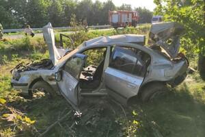 Смертельное ДТП на Запорожской трассе: среди пострадавших есть дети фото