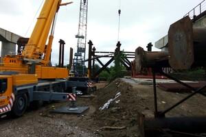 Роботы кипят: как проходит строительство запорожских мостов (фото) фото