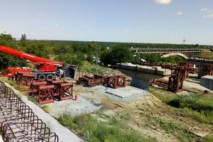 Роботы кипят: как проходит строительство запорожских мостов (фото) фото 1