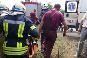 ДТП на запорожской трассе: пострадал водитель фото