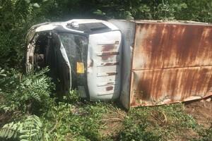 ДТП на запорожской трассе: пострадал водитель фото 1